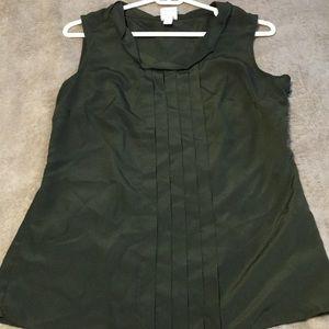 Merona green top
